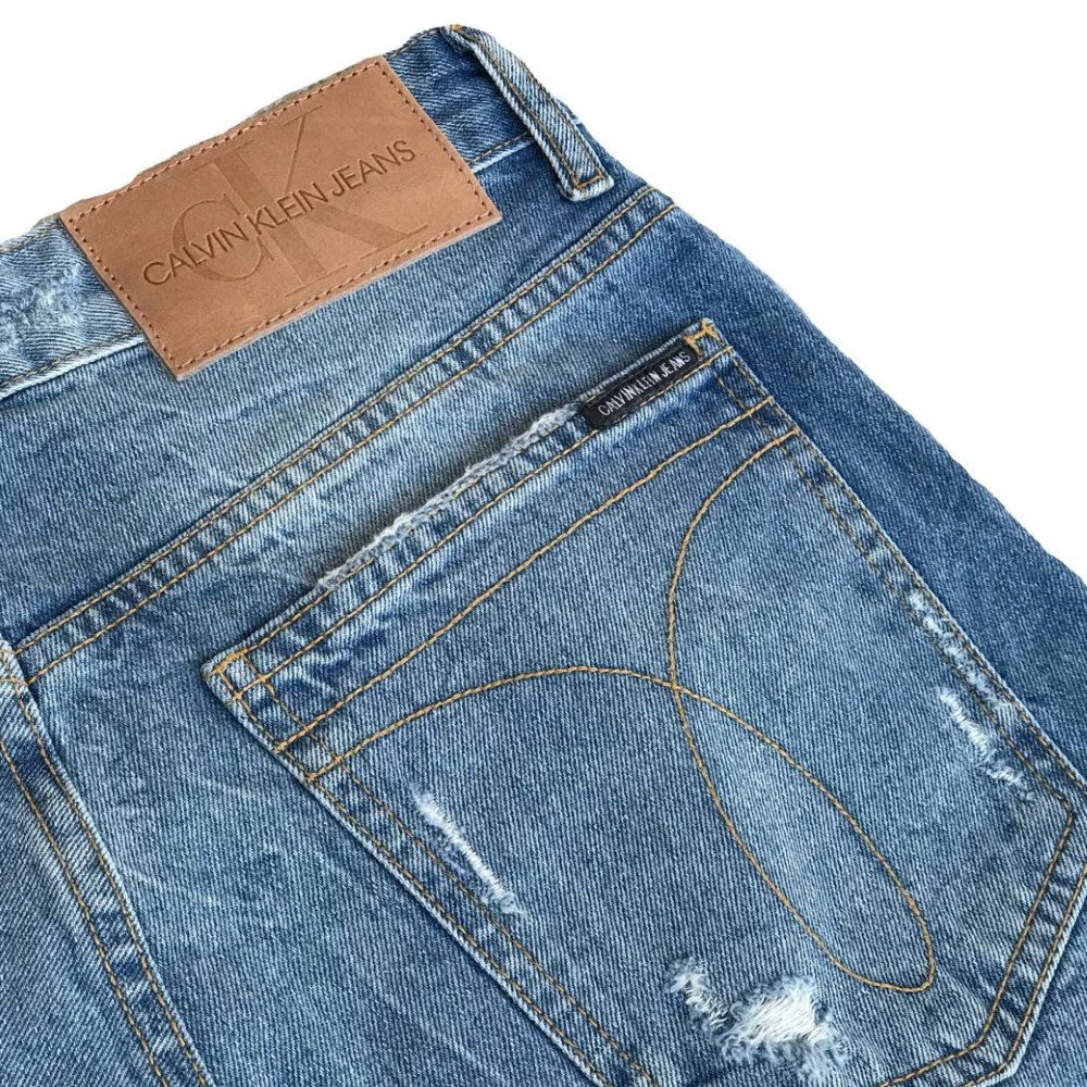 Bermuda CKJ destroyed jeans