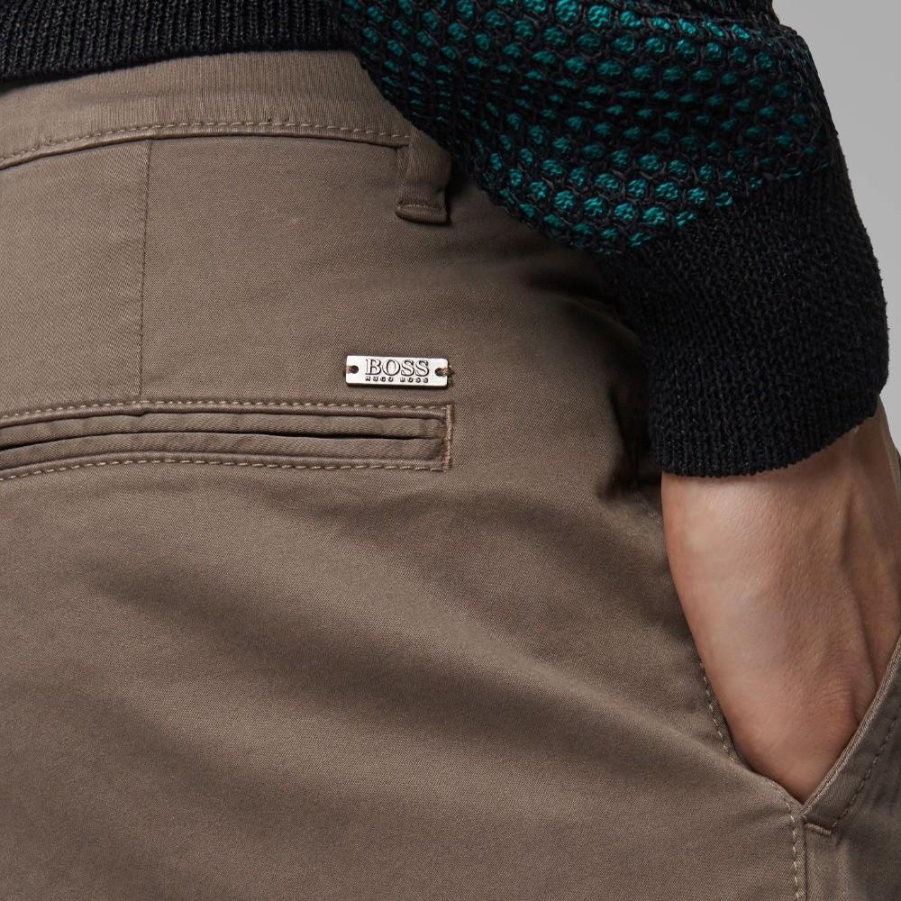 Calça Hugo Boss casual  em algodão  escovado