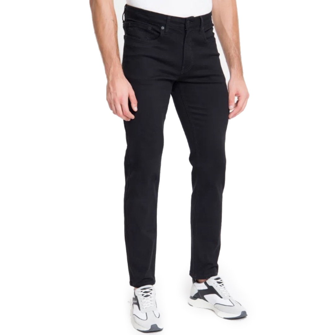 Calça Jeans Calvin Klein Jeans Five Pockets Skinny - Preta
