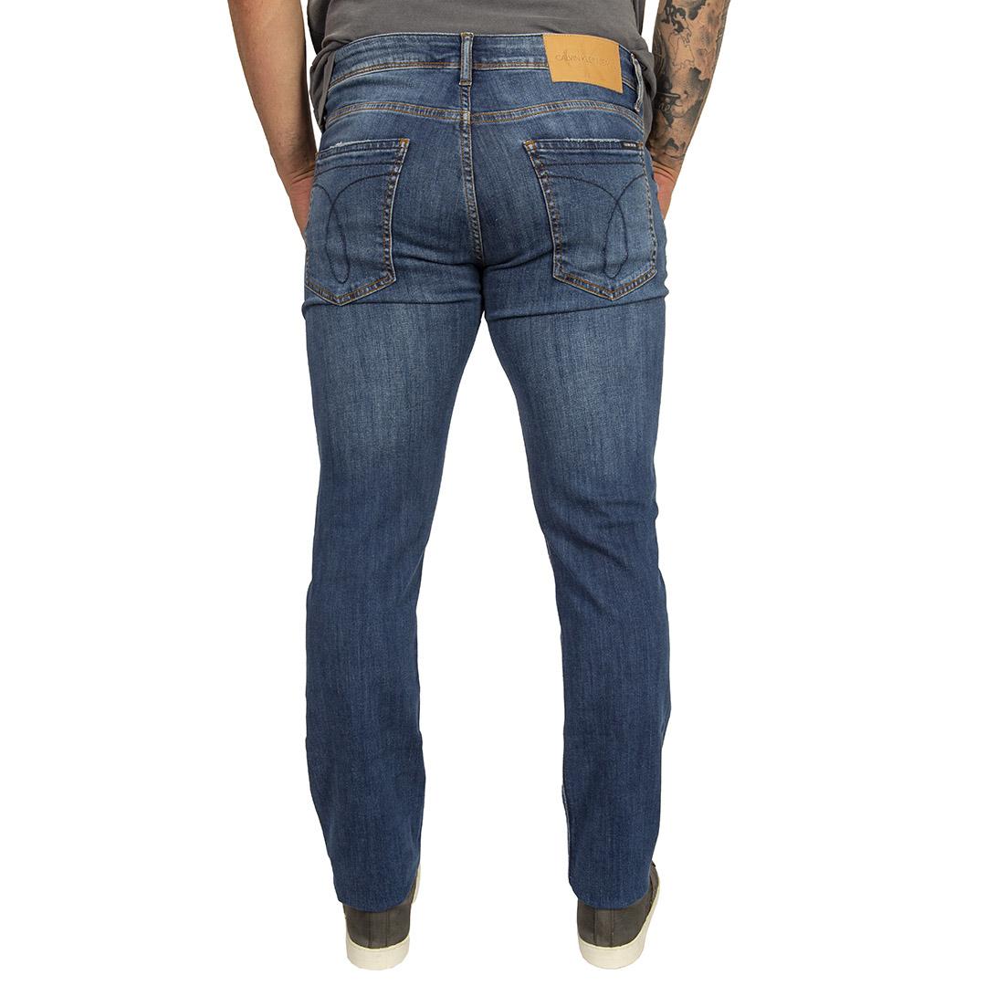 Calça Jeans Calvin Klein Jeans Skinny Azul Médio Five Pockets