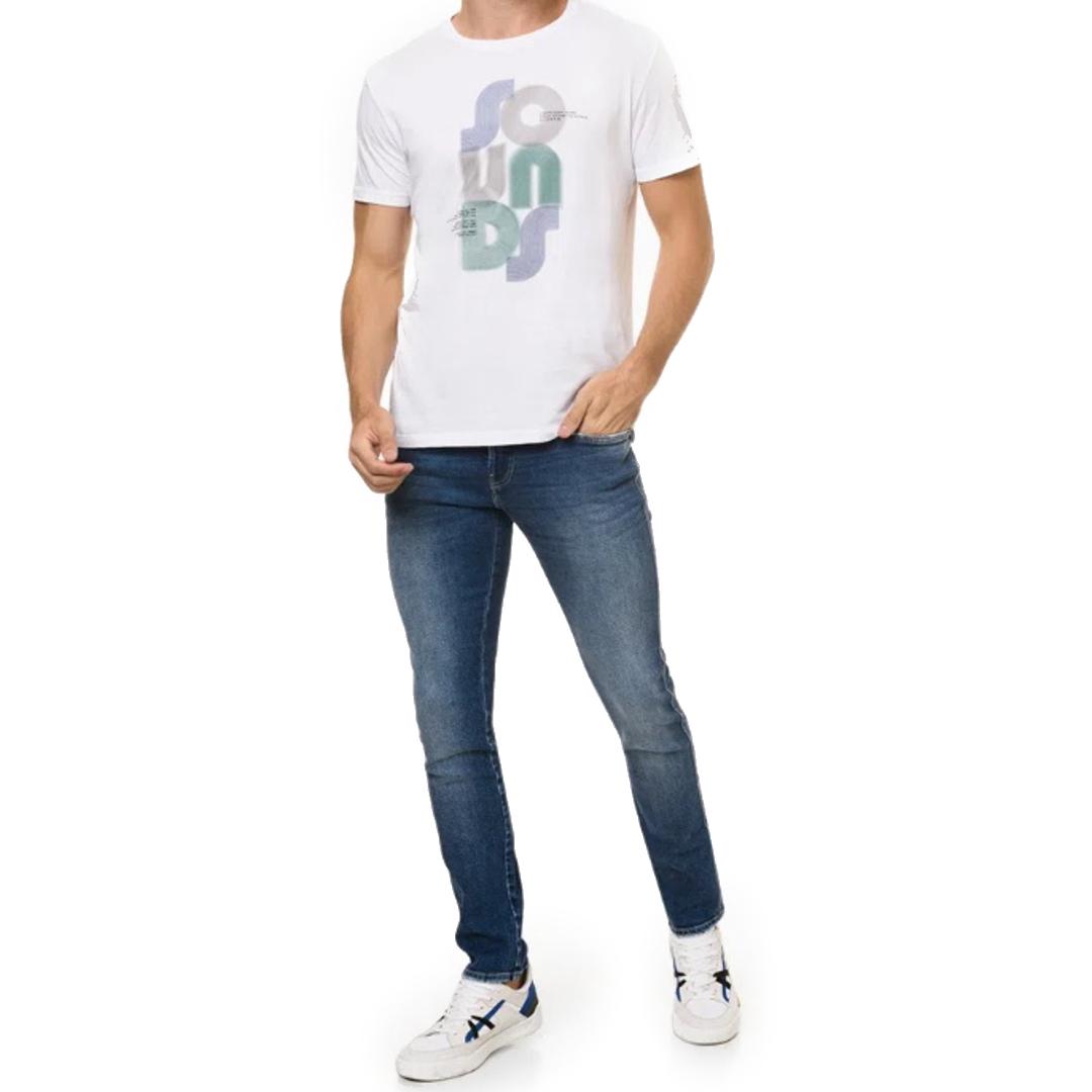 Calça Jeans Calvin Klein Jeans Skinny Marinho