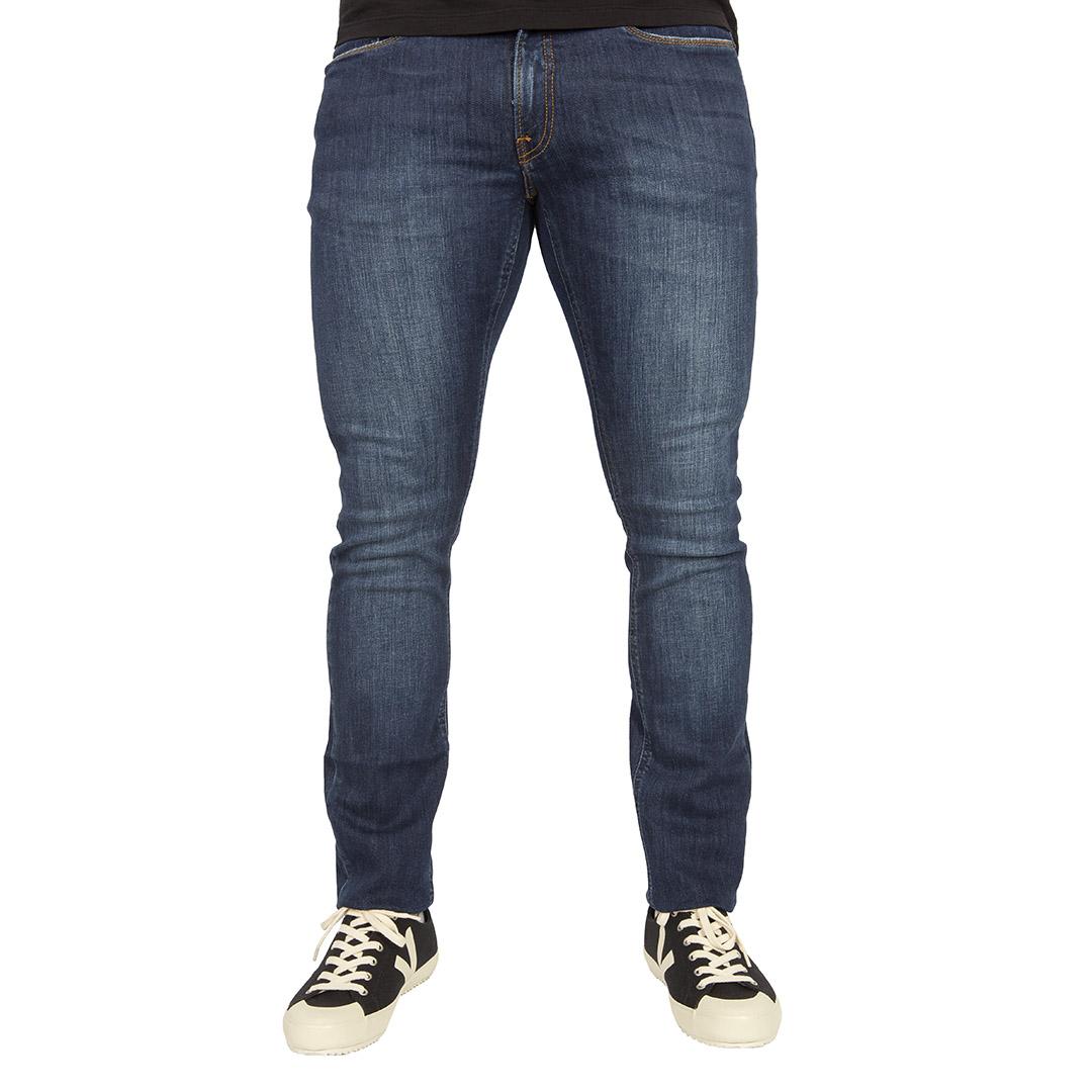 Calça Jeans Calvin Klein Jeans Skinny Marinho Five Pockets