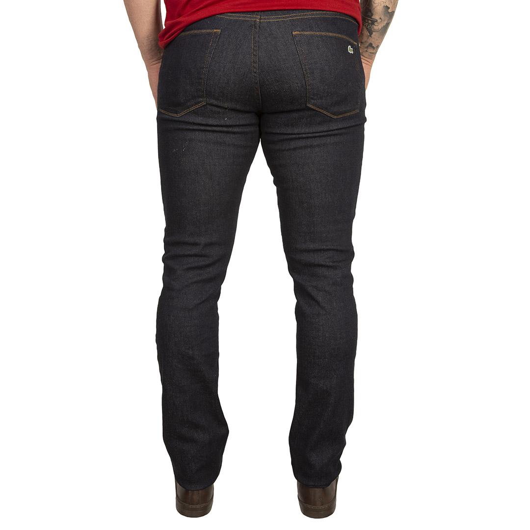 Calça Jeans Lacoste Azul Escuro