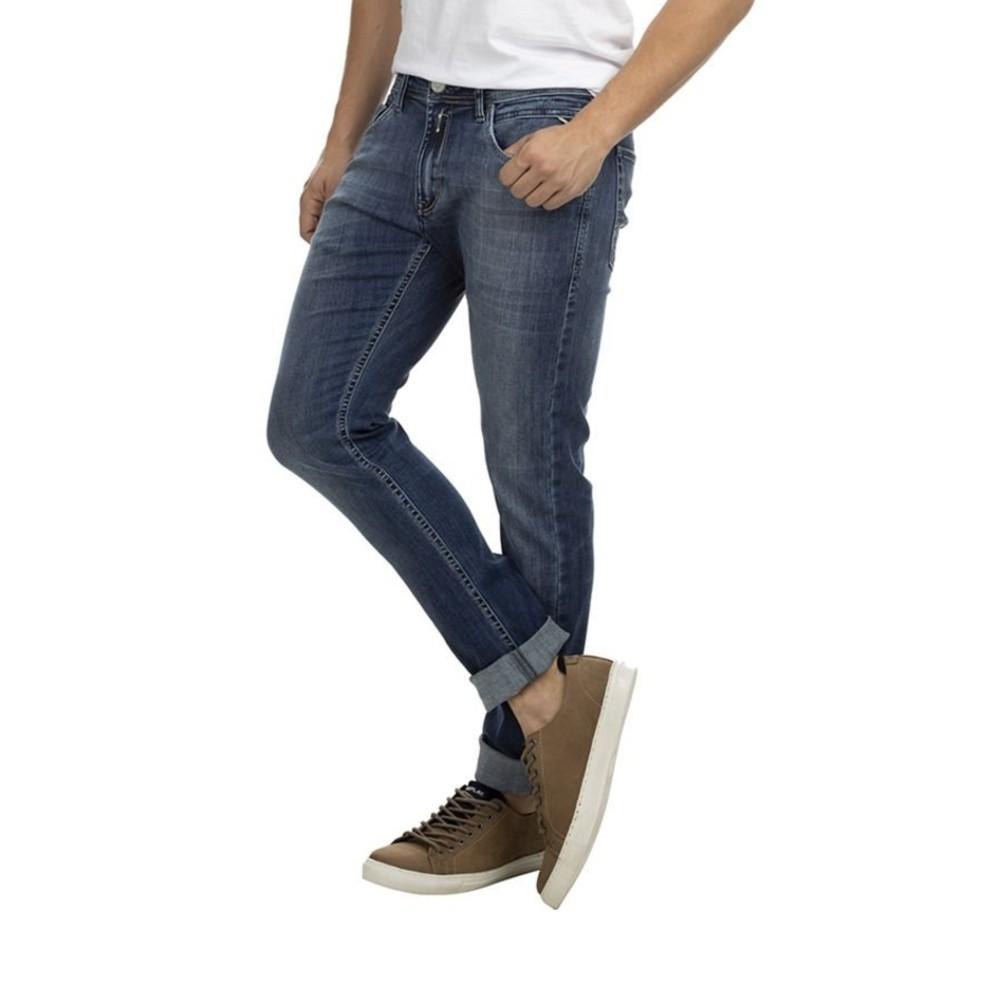 Calça Jeans Replay Jondrill Super Skinny Blue Médio