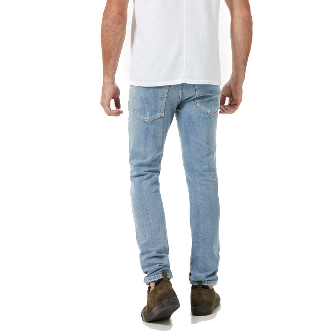 Calça Jeans Replay Skinny Claro Anbass