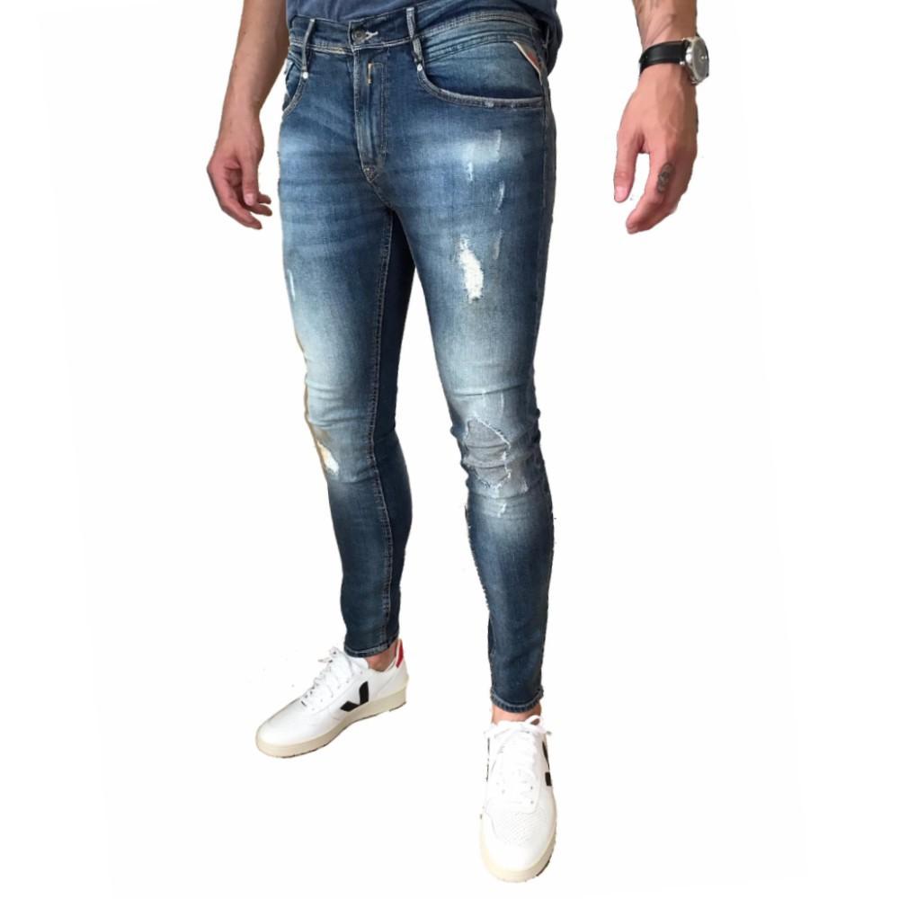 Calça Jeans Replay Super Skinny