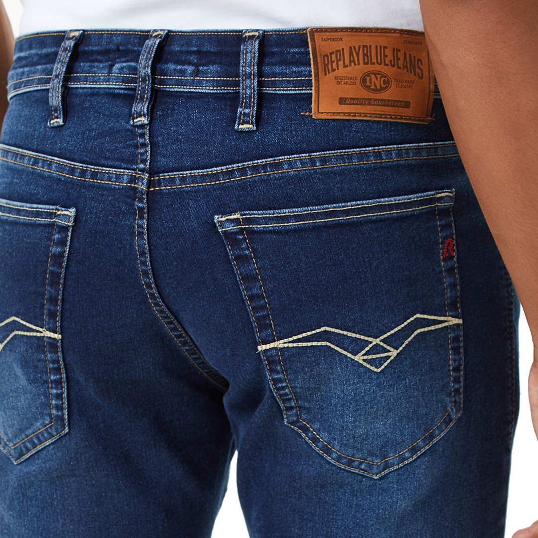 Calça Replay Jeans Super Skinny
