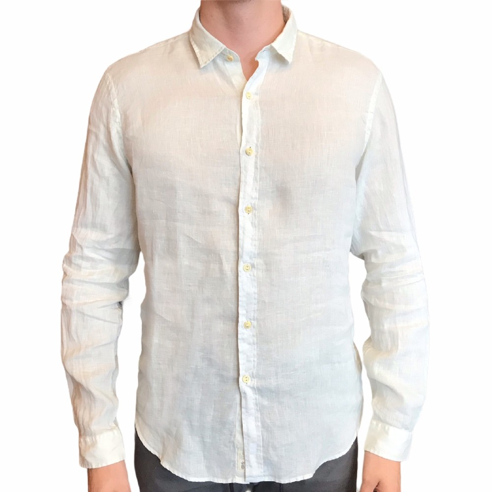Camisa de linho Pineapple manga longa