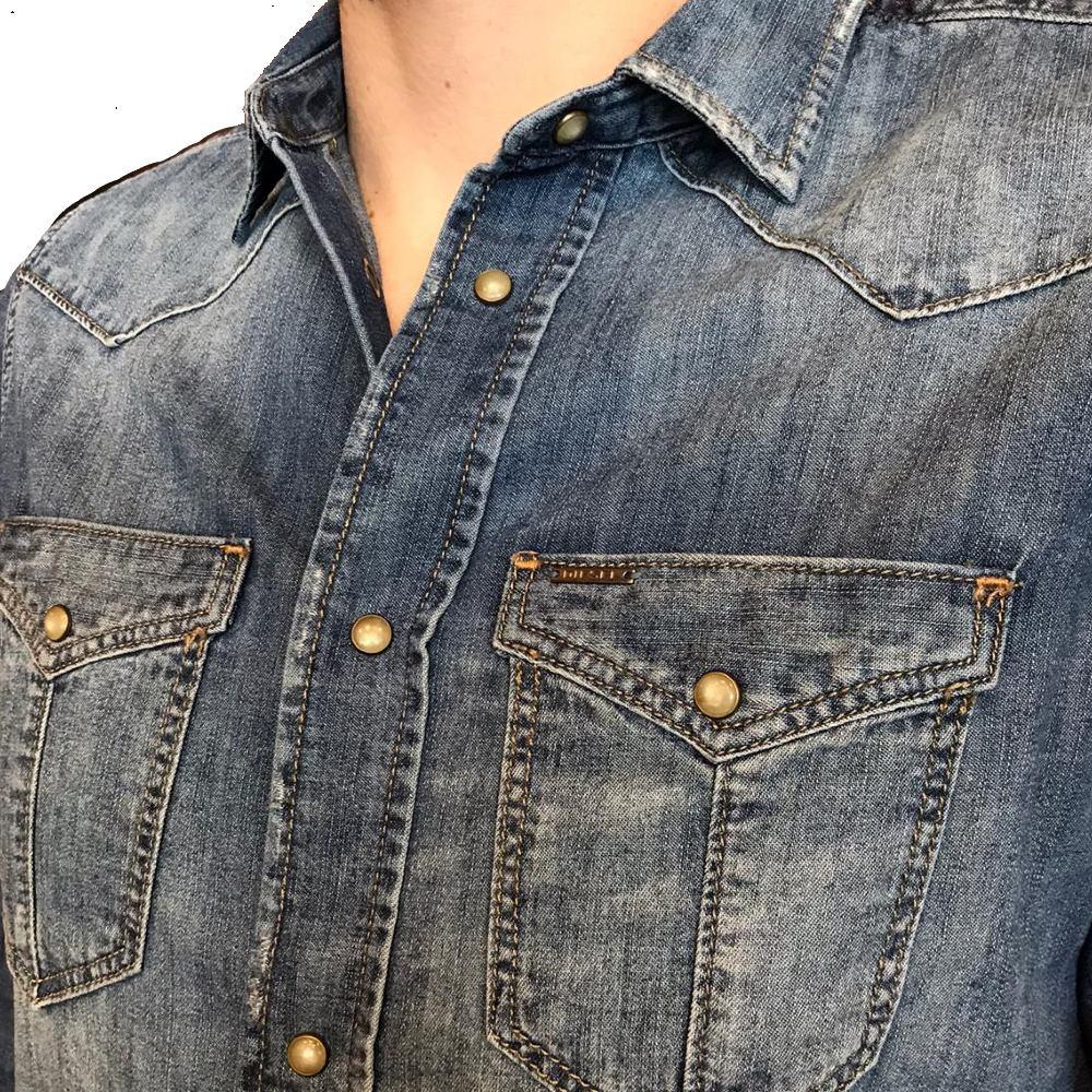 Camisa Diesel Manga longa jeans