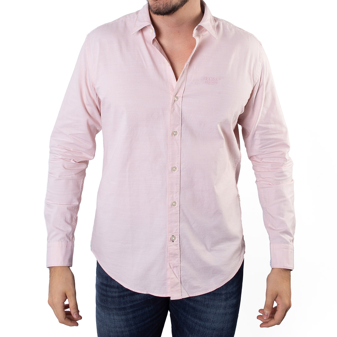 Camisa Hugo Boss Lisa Manga Longa