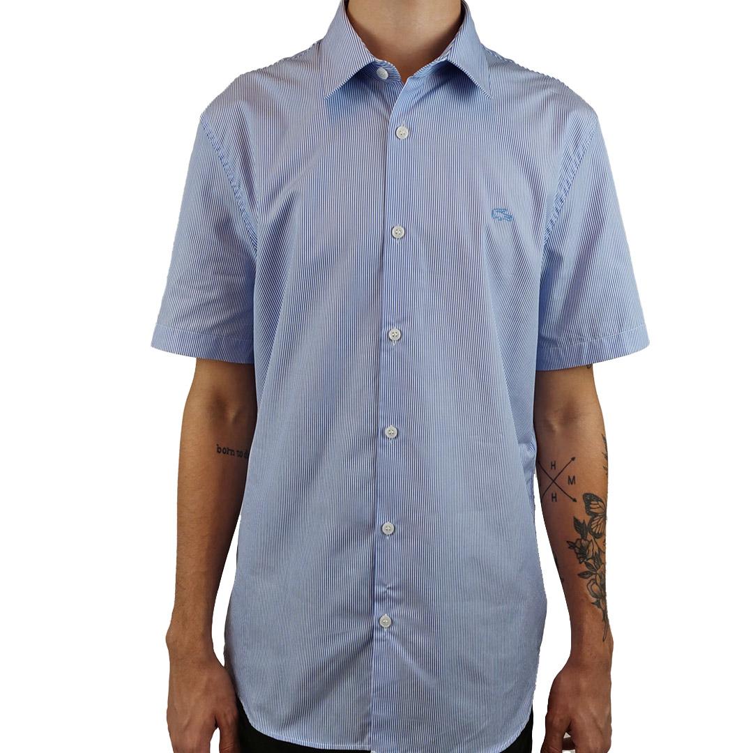 Camisa Lacoste Regular Manga Curta