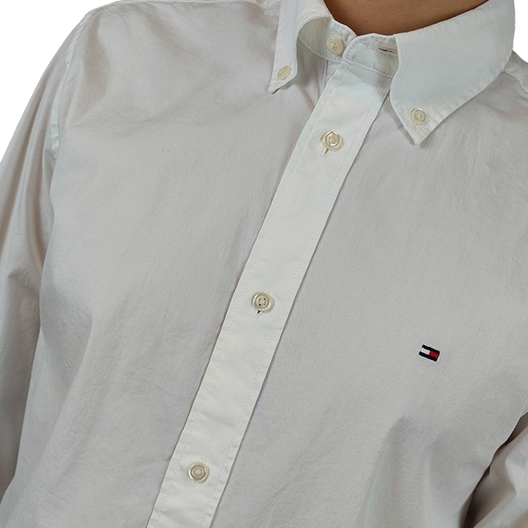 Camisa Tommy Hilfiger manga longa