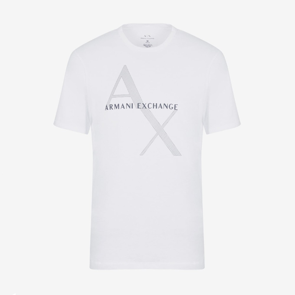 Camiseta armani exchange fit com logo