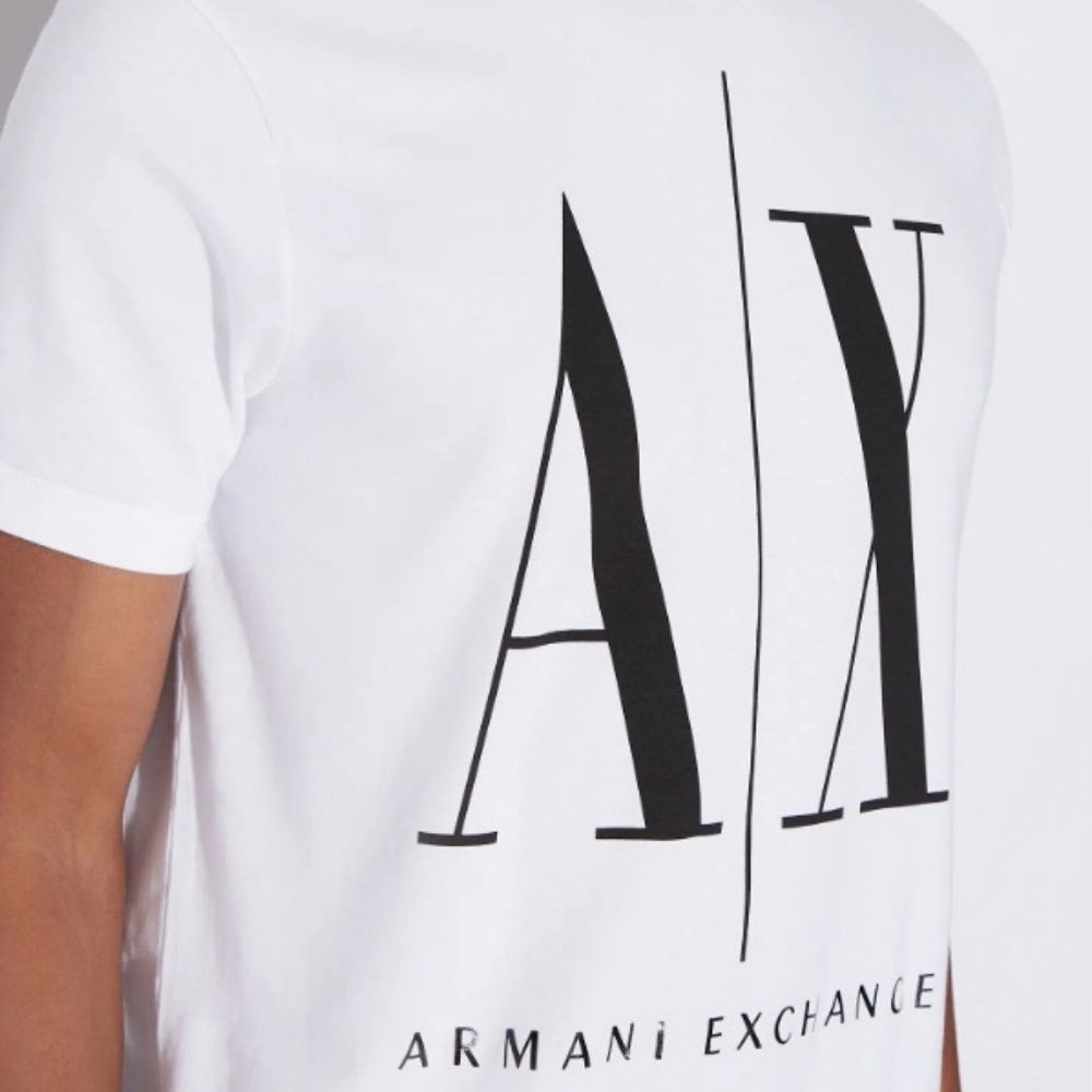 Camiseta Armani Exchange Regular Fit ICON TEE COM LOGO MACRO