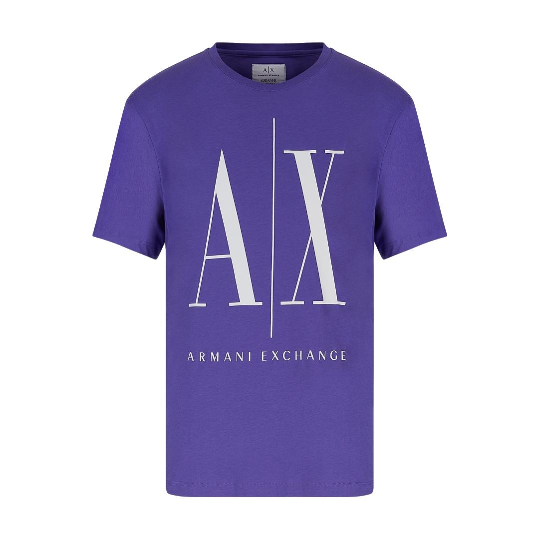 Camiseta Armani Exchange Regular Fit ICON TEE COM LOGO MACRO