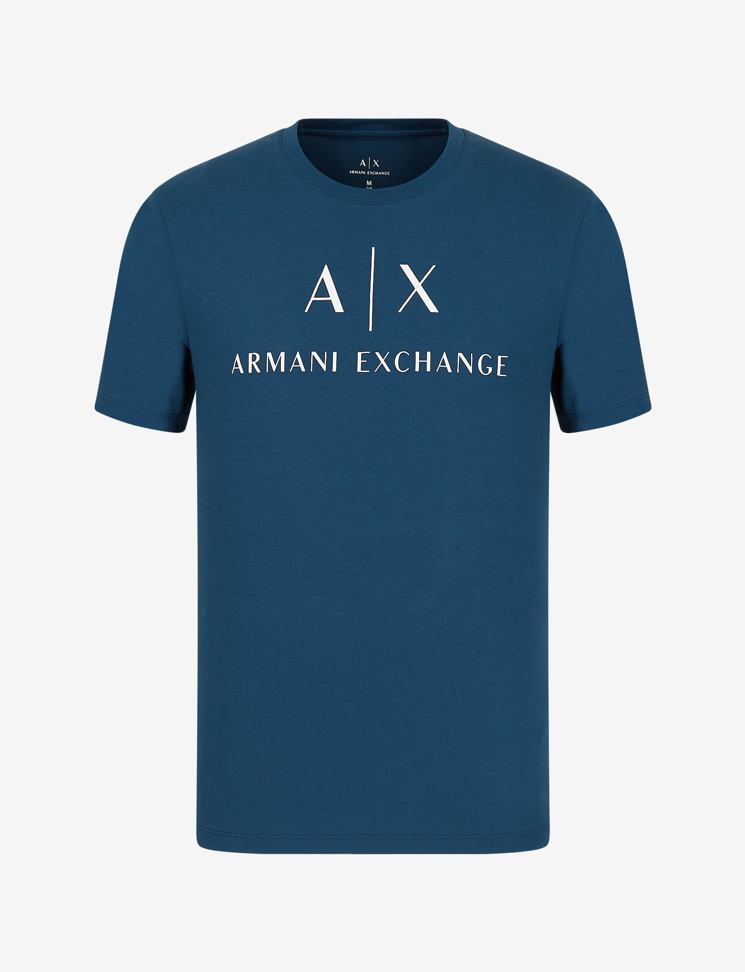 Camiseta Armani Exchange Slim Fit Com Logo