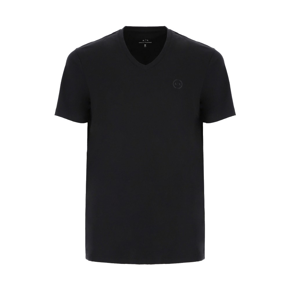 Camiseta Armani Exchange slim fit gola v