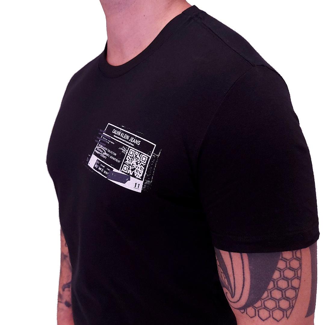 Camiseta Calvin Klein Jeans Industrial Manga Curta