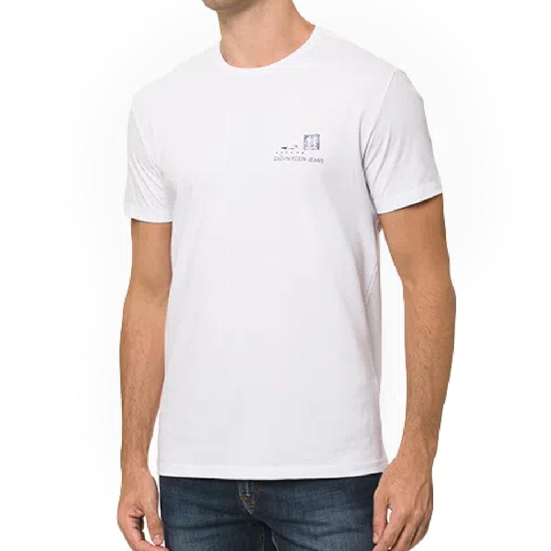 Camiseta Calvin Klein Jeans Manga Curta