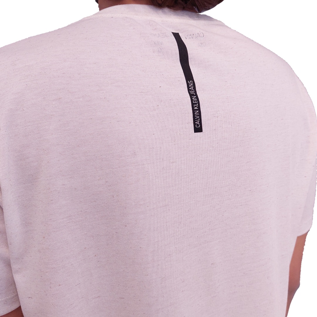 Camiseta Calvin Klein Jeans Manga Curta Estampada