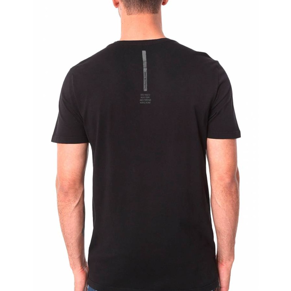 Camiseta Calvin Klein Jeans Masculina International Flagship Preta