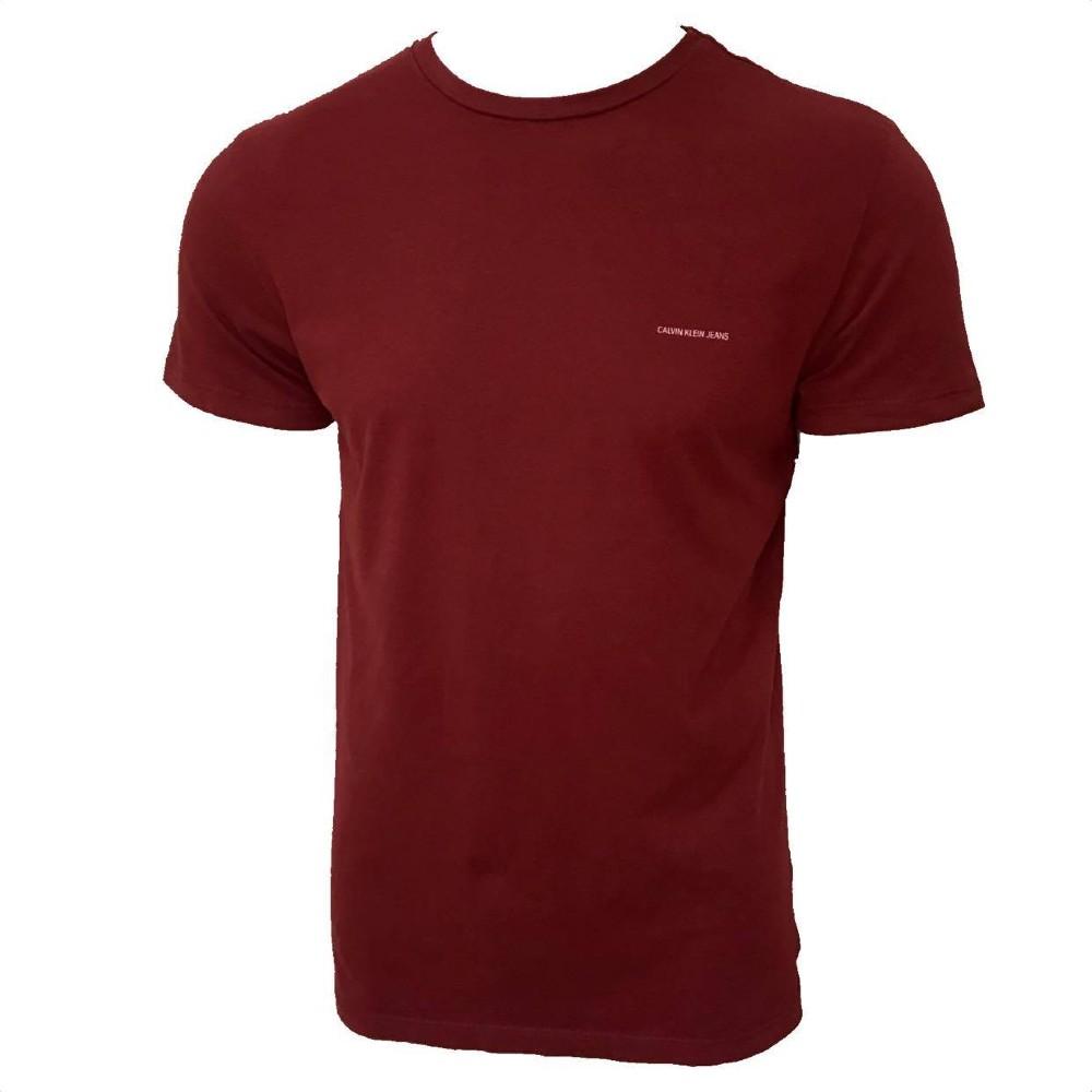 Camiseta Calvin Klein Jeans MC Basico Peito