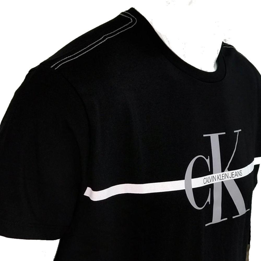 Camiseta Calvin Klein Jeans REGULAR LOGO MEIA ROLO GC
