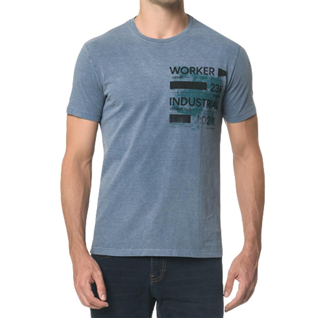 Camiseta Calvin Klein Jeans Worker Manga Curta