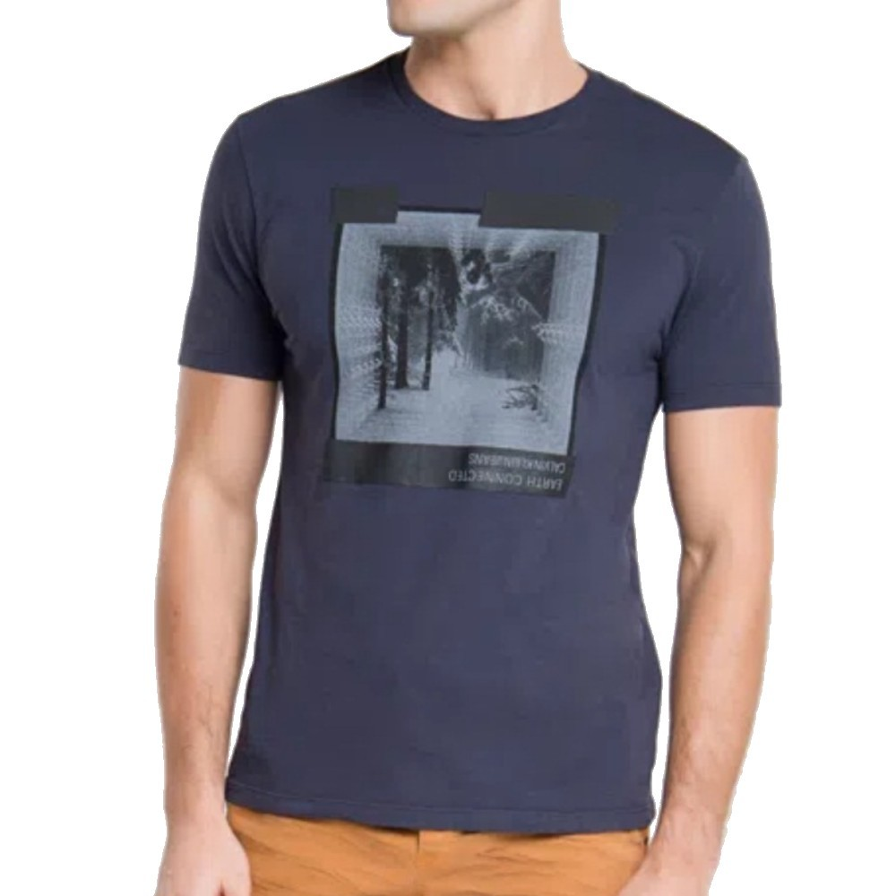 Camiseta Calvin Klein technology 1978 Azul Marinho