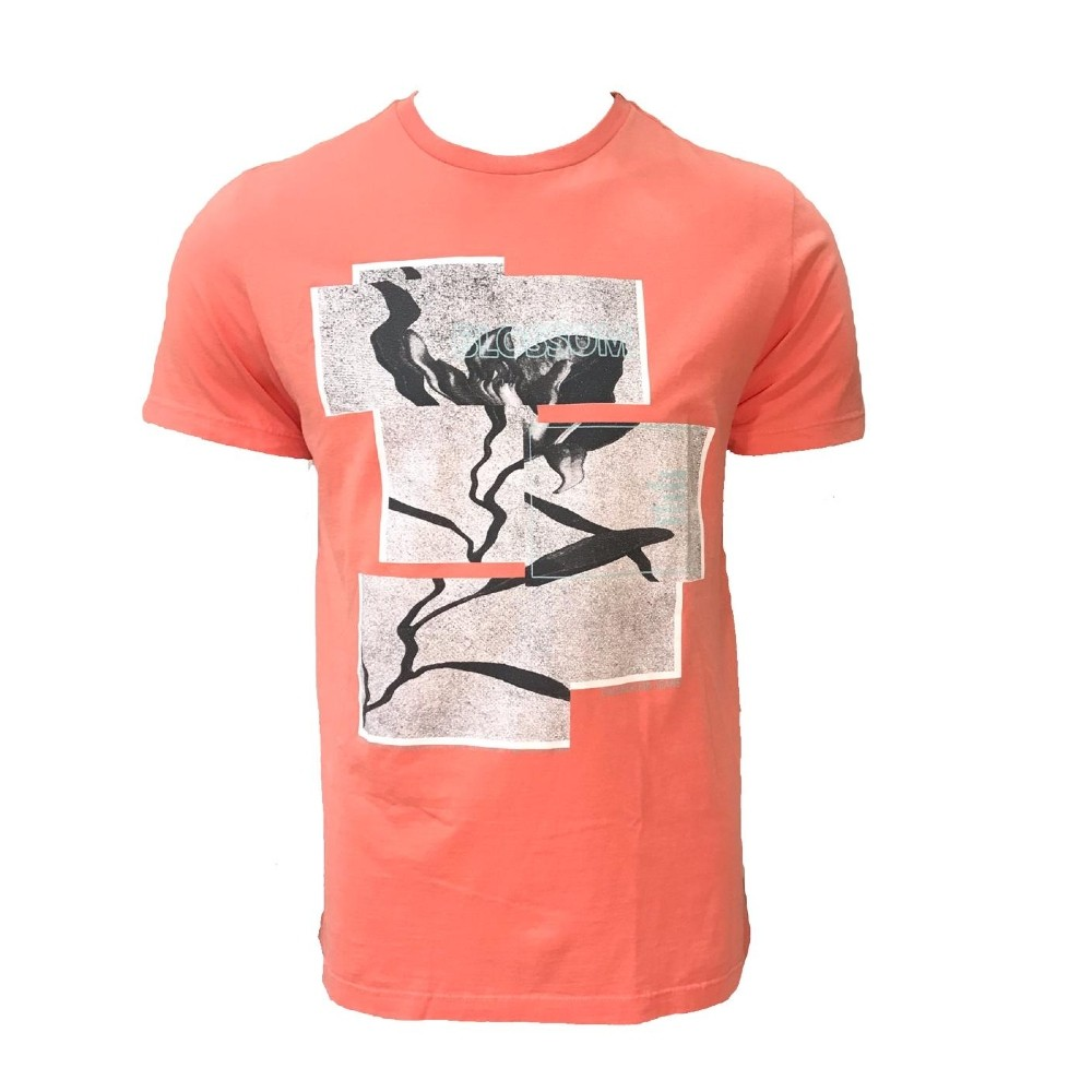 Camiseta CKJ MC Blossom Papaya