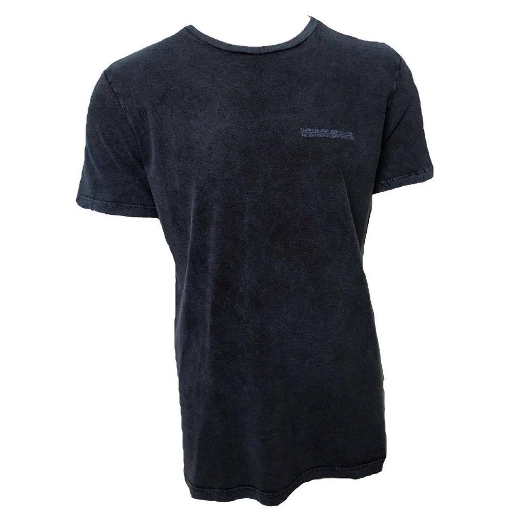 Camiseta CKJ MC com Estampa nas costas - INDIGO