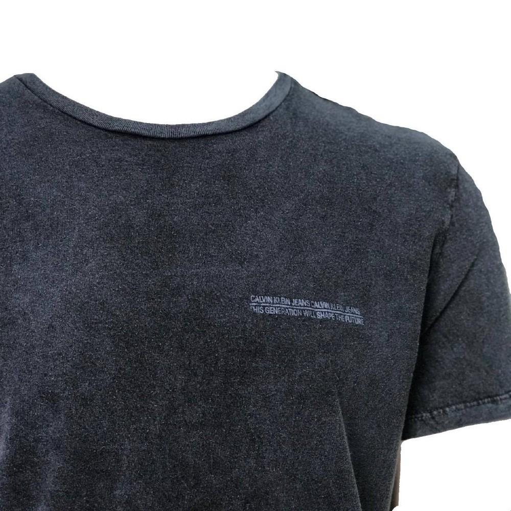 Camiseta CKJ MC com Estampa nas costas - INDIGO