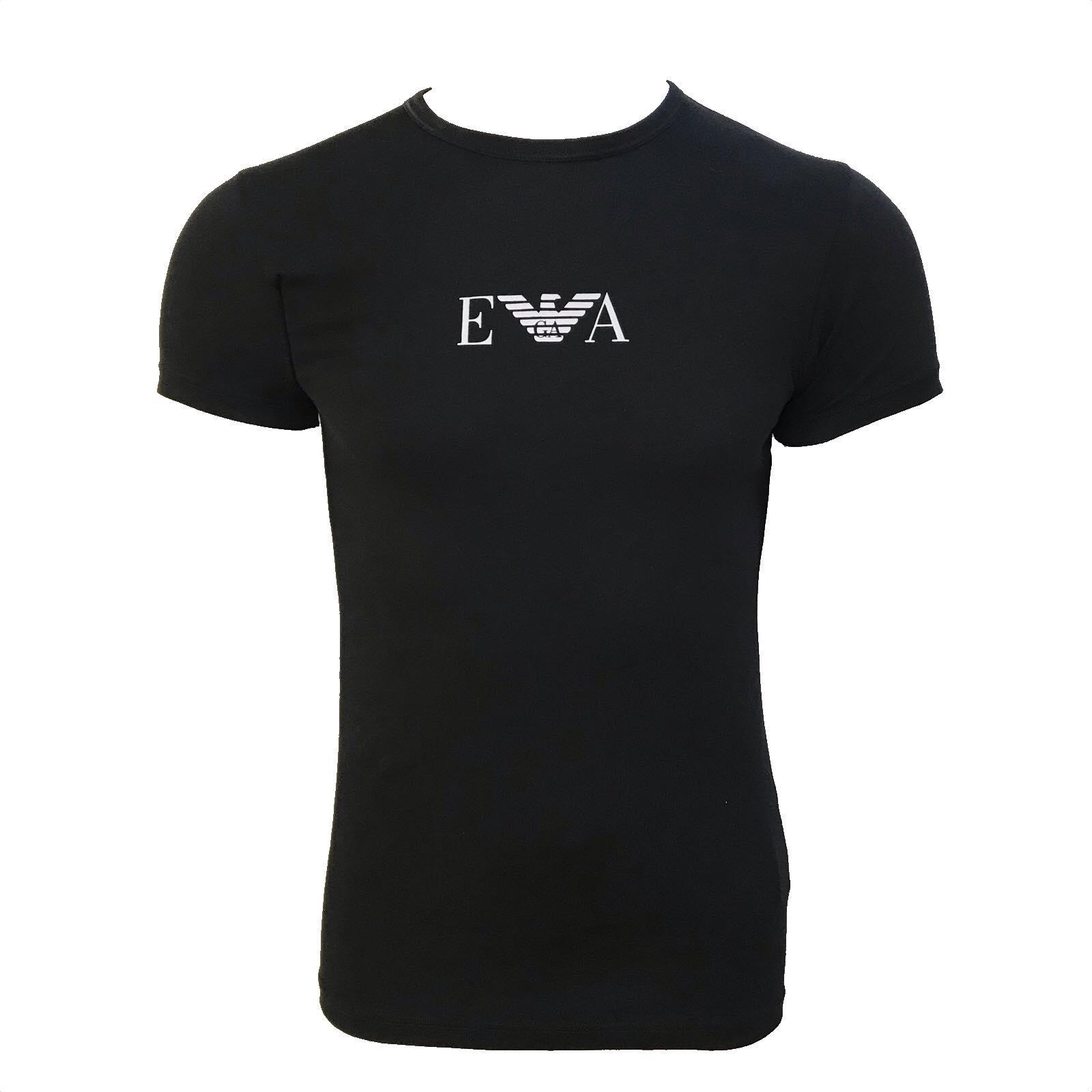 Camiseta Emporio Armani Underwear Básica Preto