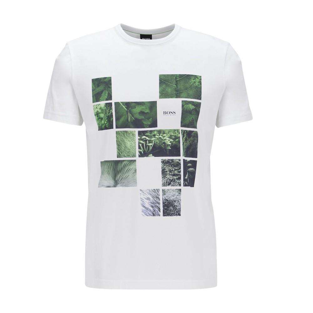 Camiseta  Hugo boss estampa