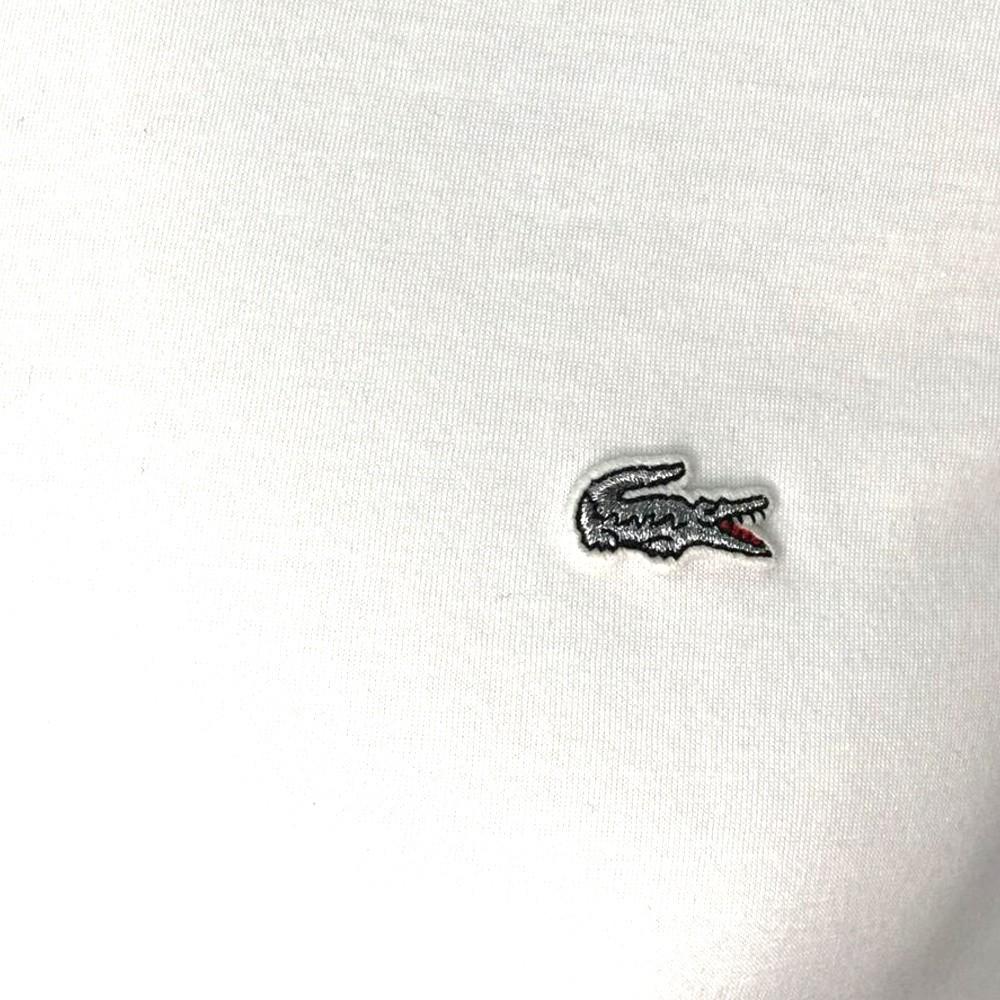 Camiseta Lacoste detalhe prata
