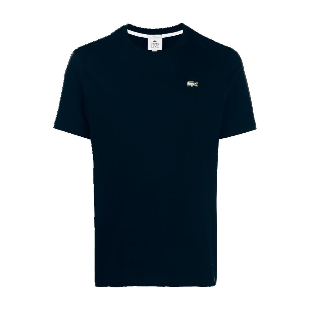 Camiseta Lacoste live com logo bordado