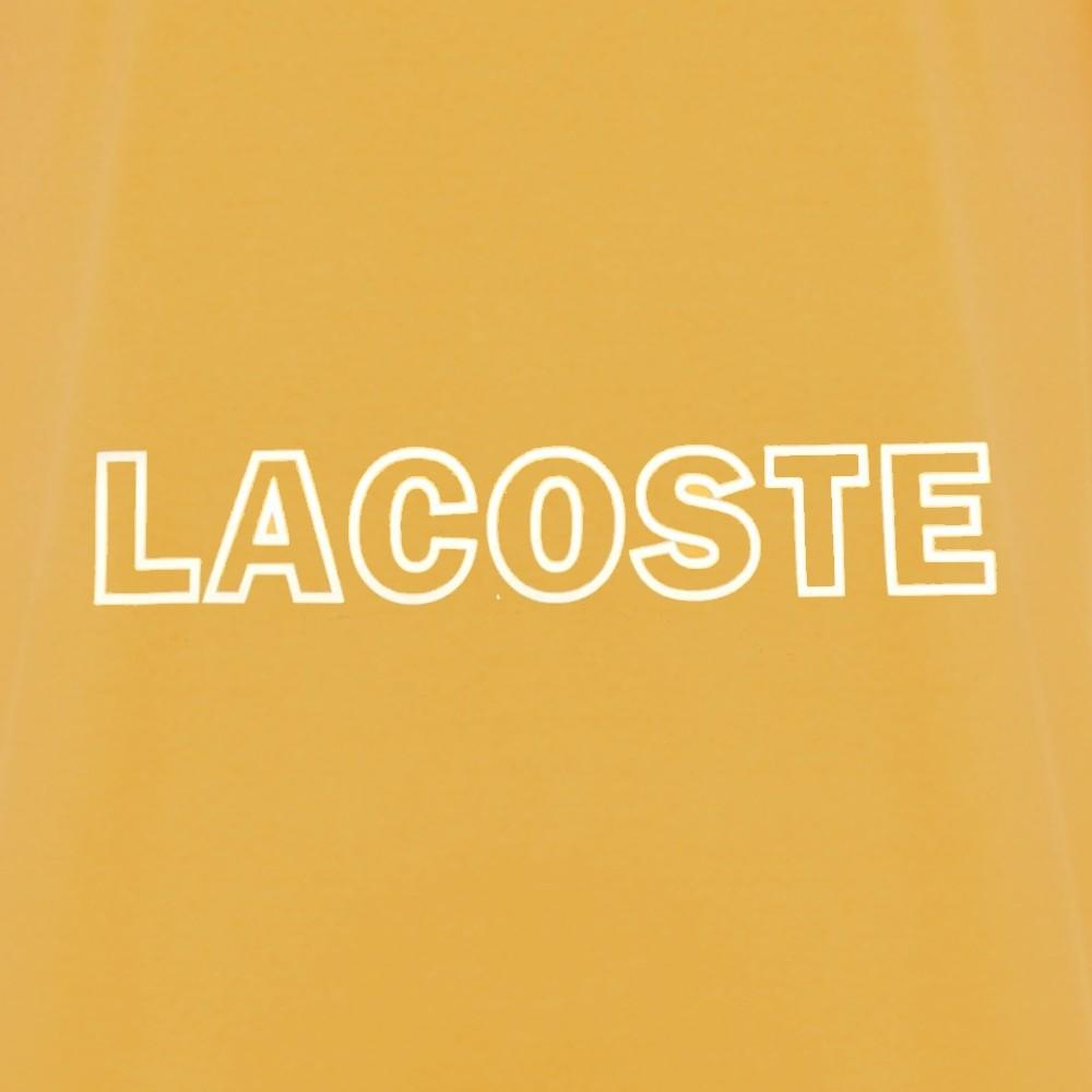 Camiseta Lacoste Regular Fit amarela
