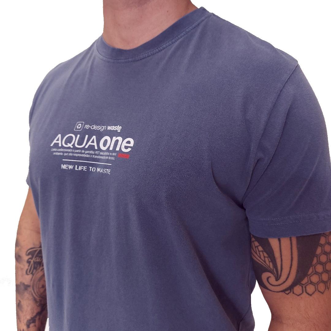 Camiseta Osklen AquaOne Regular Manga Curta