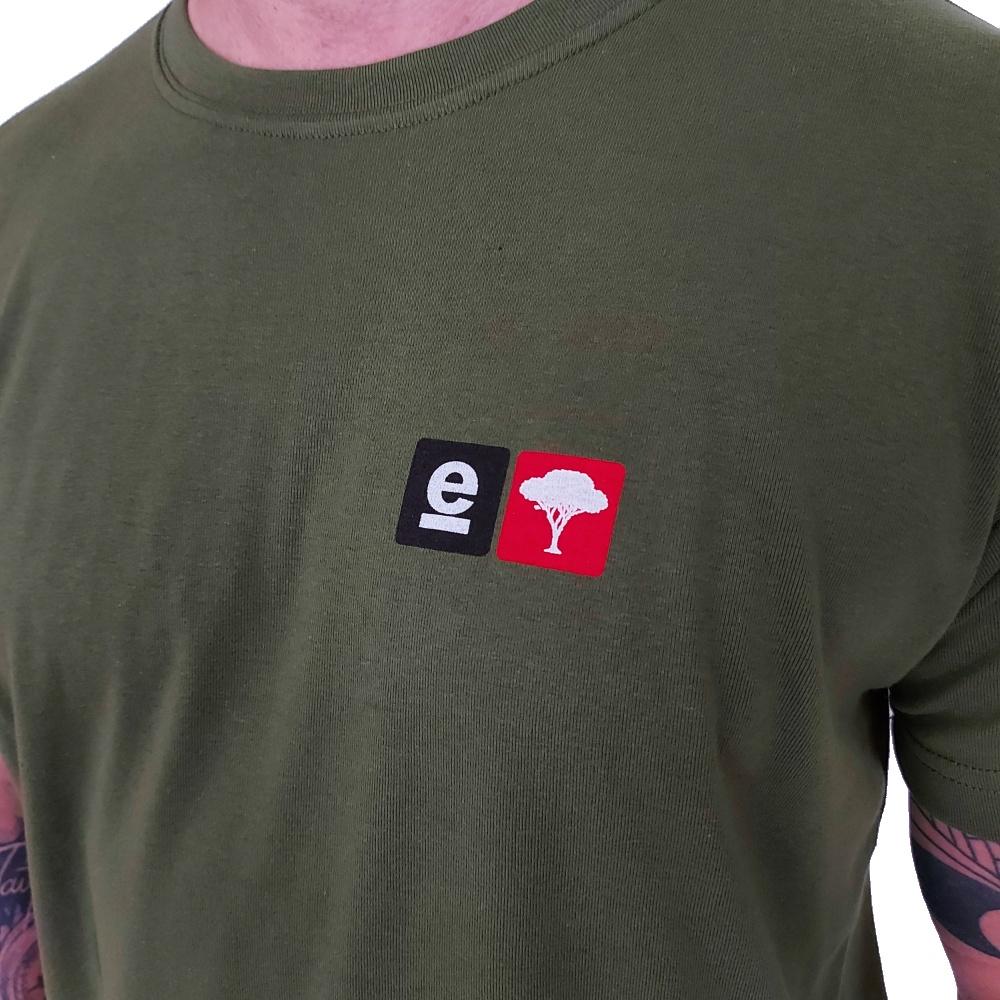 Camiseta Osklen Big Shirt Badges Manga Curta