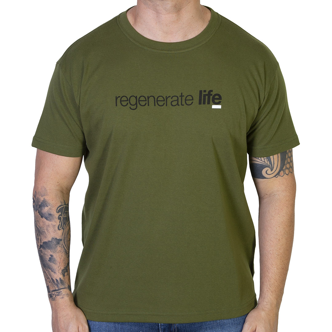 Camiseta Osklen Big Shirt Regenerate Life