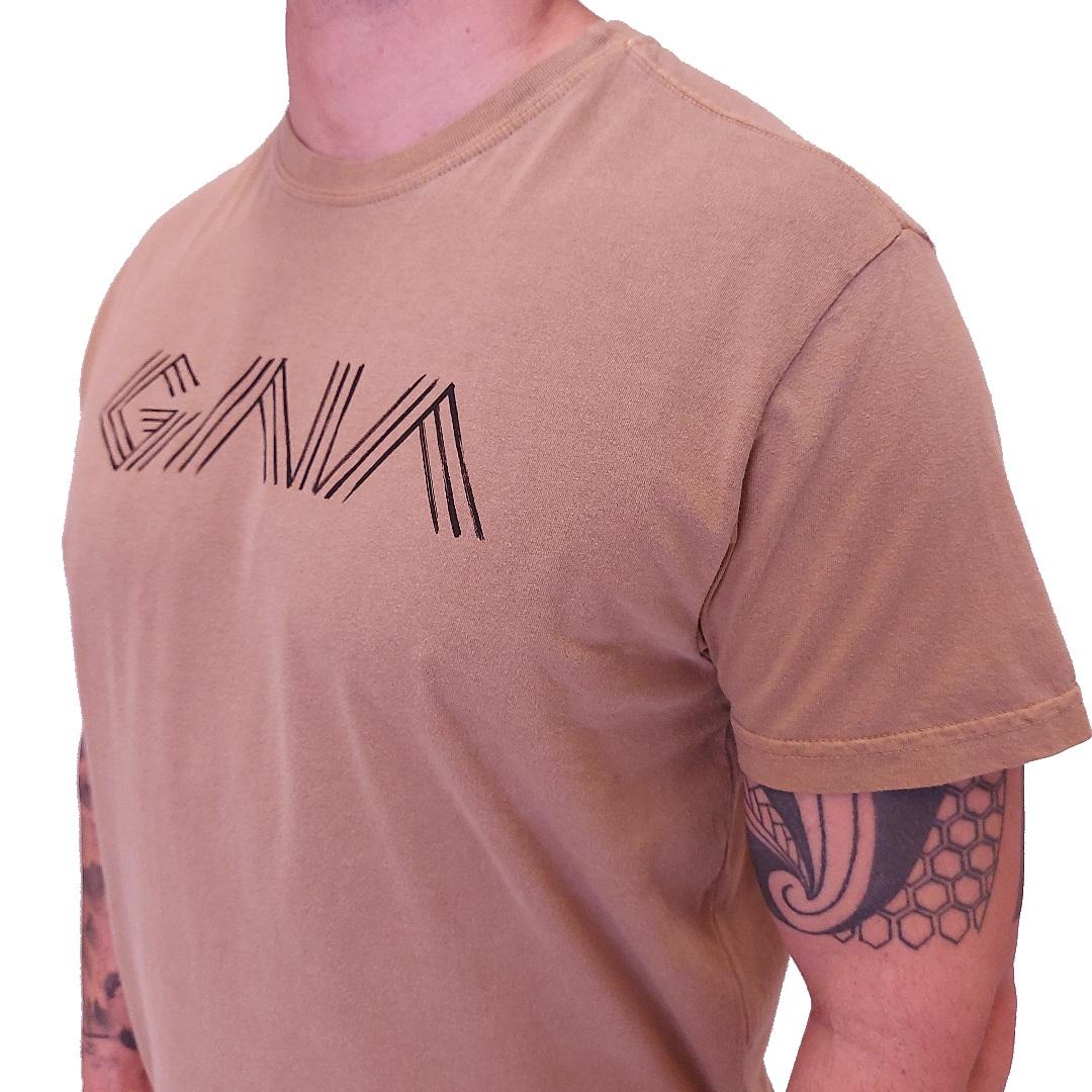 Camiseta Osklen Gaia Manga Curta