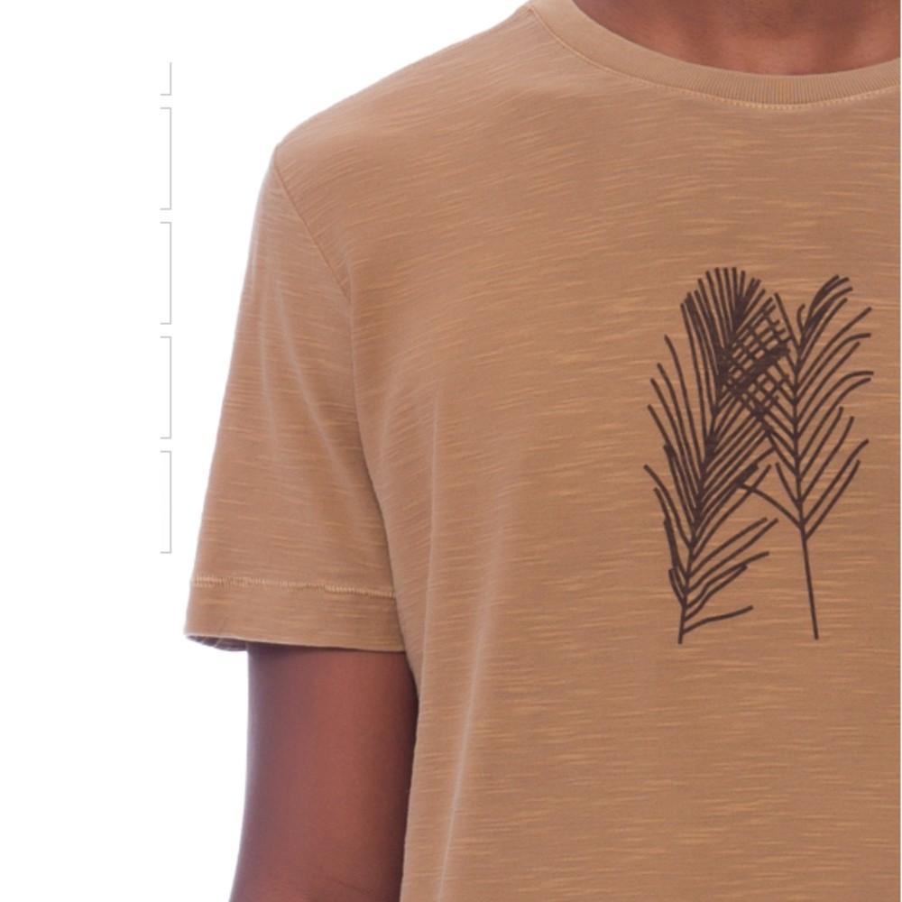 Camiseta Osklen Rough Palm Traces