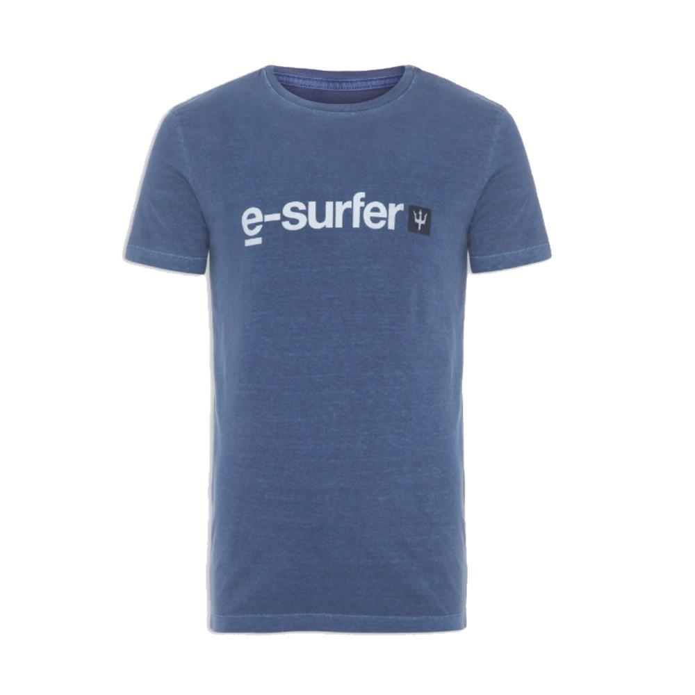 Camiseta Osklen Stone E Surfer AZUL