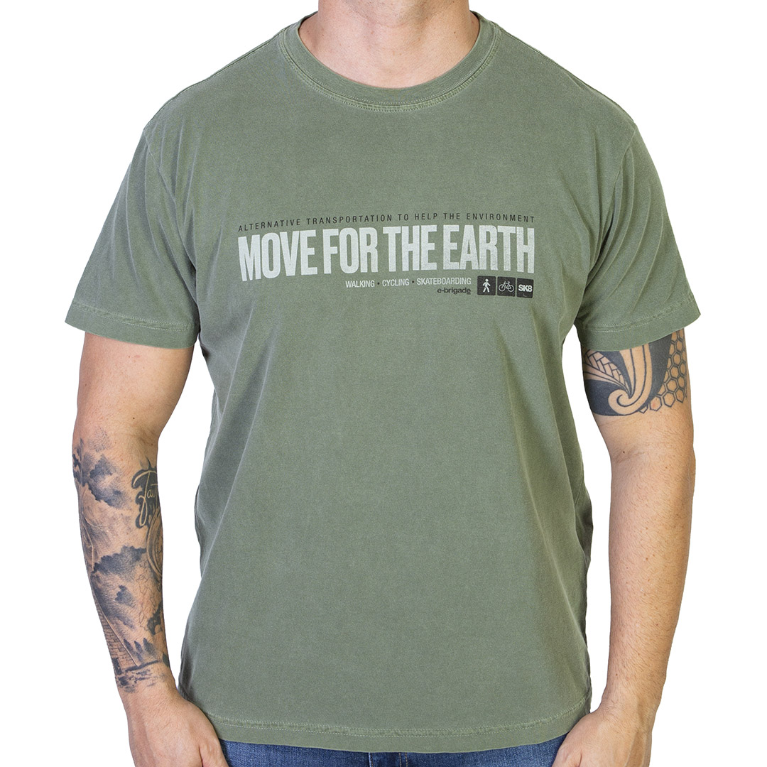 Camiseta Osklen Stone Move For The Earth - Verde