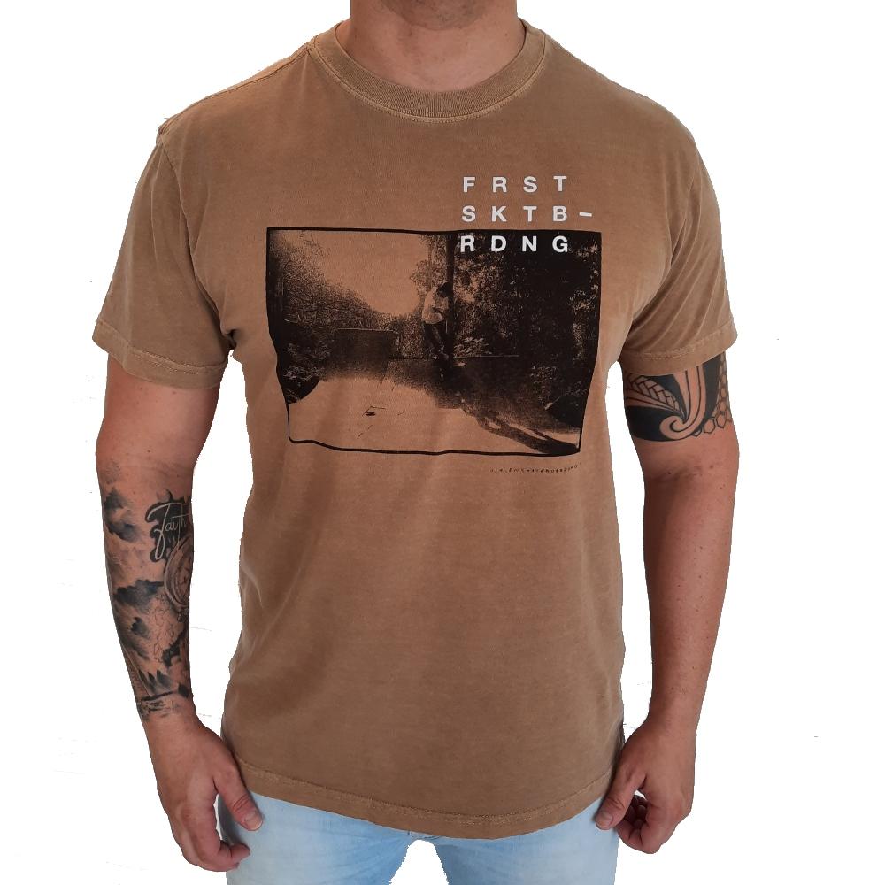 Camiseta Osklen Stone Skate Forest