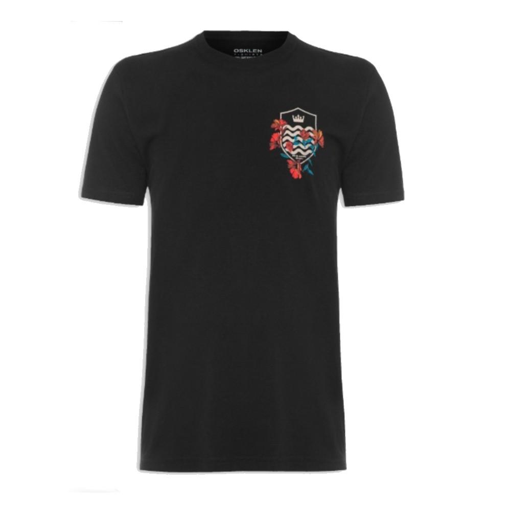 Camiseta Osklen Vintage Brasão Flores