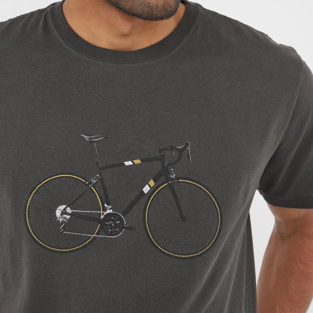 Camiseta Osklen Vintage Cycling chumbo
