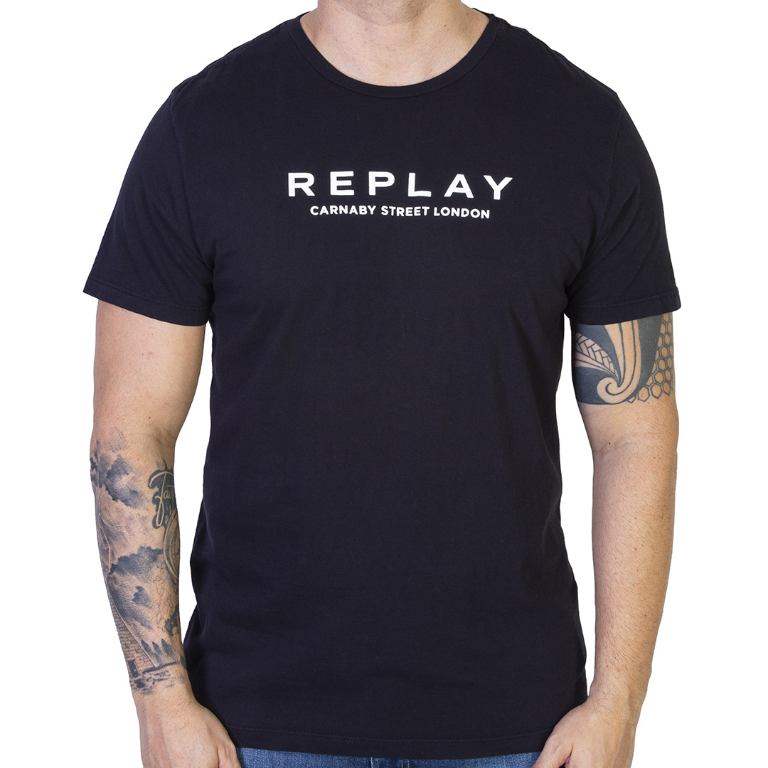 Camiseta Replay Carnaby Street London