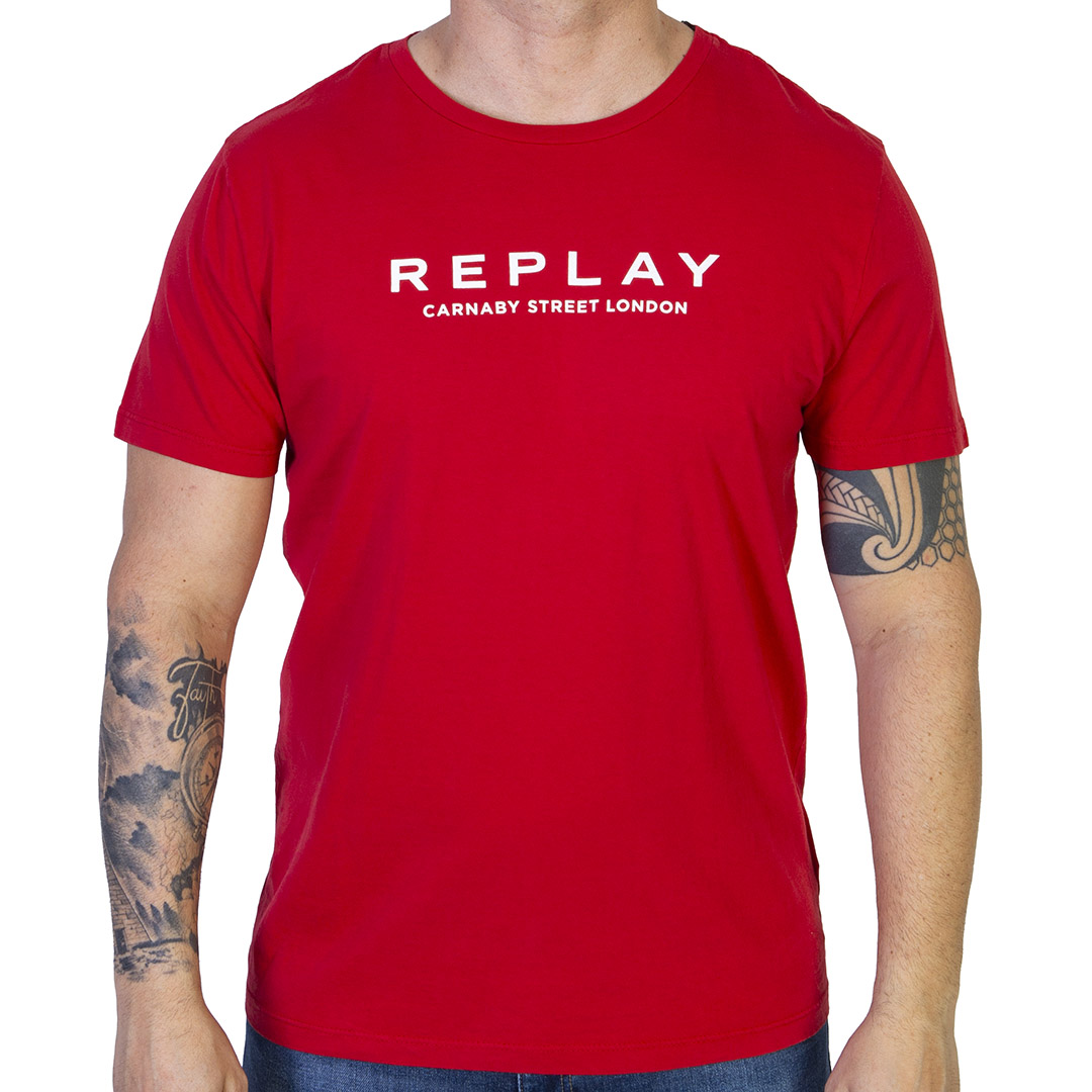 Camiseta Replay Carnaby Street London