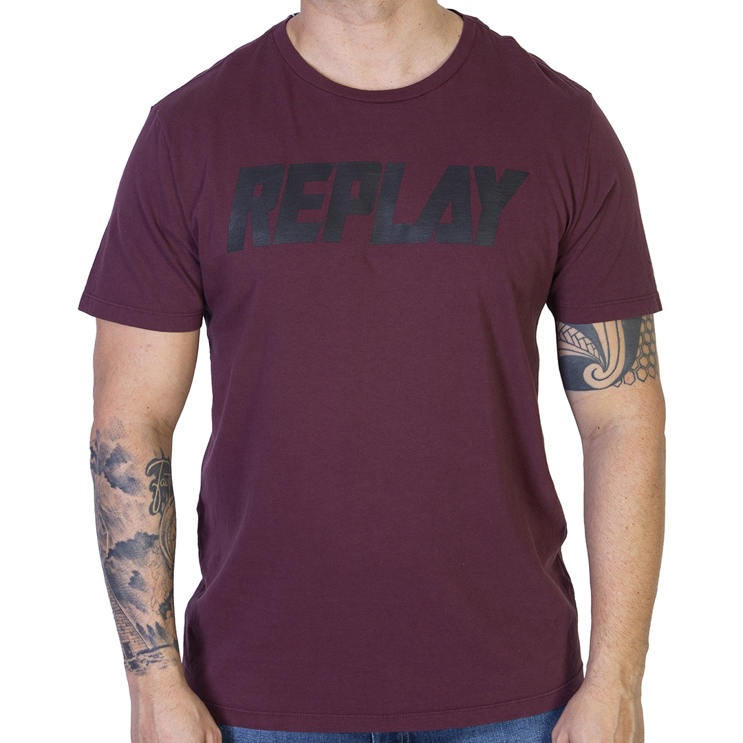 Camiseta Replay Institucional